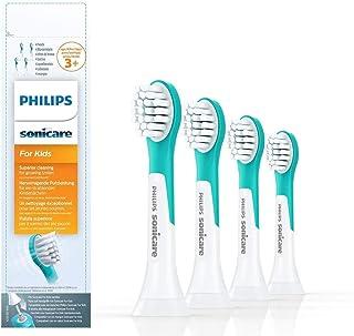 Philips Sonicare Opzetborstels For Kids Compact - 4 Stuks - Compact formaat - Opklikbaar - Kindvriendelijke reiniging - Va...