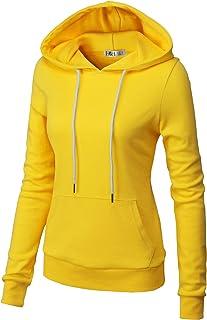 H2H Womens Casual Slim Fit Hoodie Zip up Sweatshirts Long Sleeve