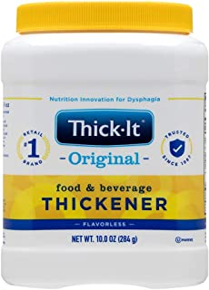 Thick-It Original Food & Beverage Thickener, 10 oz Canister (Pack of 12) (J584-H5800)