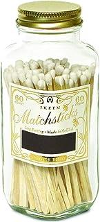 Skeem Design White + Gold Classic Vintage Matches