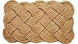Iron Gate Coir Rope 18'x30' Interwoven Design Doormat 100% Natural Fibers- 2 Pack