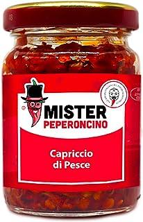 Capriccio di Pesce (90 Gr) - Con peperoncino piccante - Mister Peperoncino