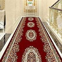 MDCG カーペット ランナー 廊下 リビングルーム テラス エントランス 玄関マット フロアマット 廊下 階段 エリアラグ カスタマイズ可能 (Color : I, Size : 100x270cm)