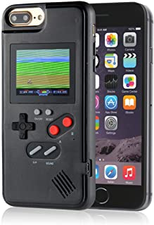 AISALL Gameboy iPhone Case Playable Gameboy Case for iPhone, 36 Classic Games Full Color Display Gameboy Phone Case Retro Gaming Phone Case Protective Cover (Black, iPhone XR)