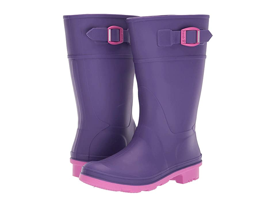 Kamik Kids Raindrops (Little Kid/Big Kid) (Purple) Girls Shoes