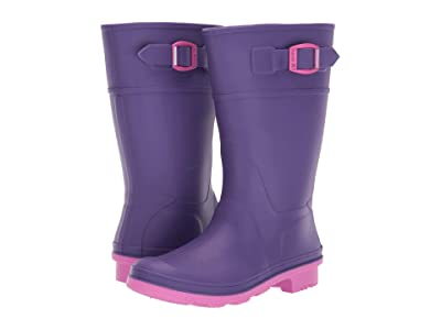 Kamik Kids Raindrops (Little Kid/Big Kid) (Purple) Girls Shoes