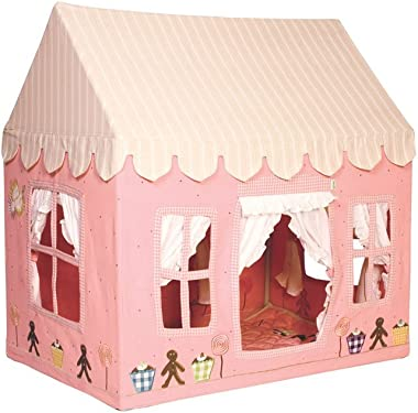 Win Green LGC Gingerbread Cottage Playhouse; Large