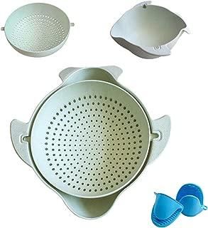 Lidard Kitchen Strainer Or 2-in-1 Wash Colander Of Vegetable And Fruit (S)