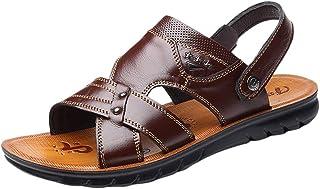 HEETEY - Zapatillas de casa para Hombre, monocromas para Hombre, Zapatos de Playa, Sandalias, Zapatos de Verano, Rayas par...