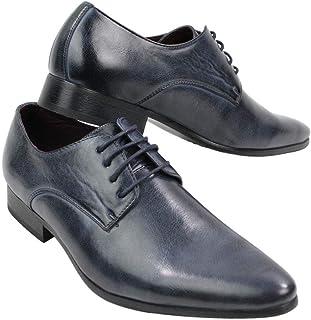 Galax GH2019 - Zapato Clasico para Caballero, con Cordones, Ideal para Llevar en la Oficina, para una ocasion Elegante o I...