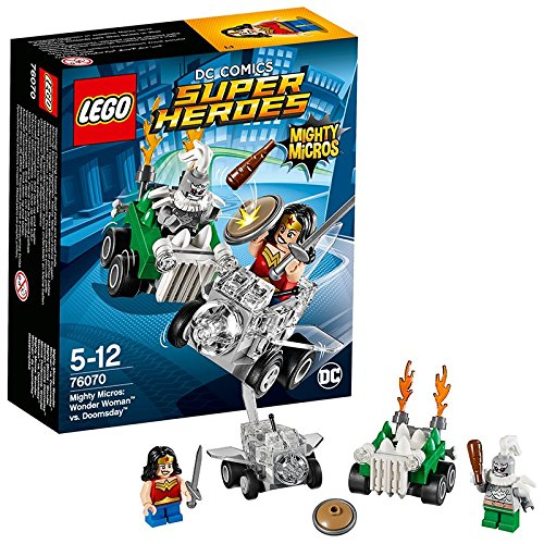 LEGO Super Heroes 76070 - Mighty Micros Wonder Woman Contro Doomsday