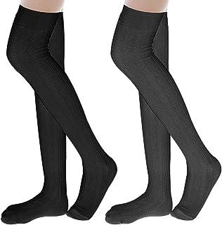 Ordenado Womens Spring Sexy Over Knee Leg Warmer Crochet Thigh High Boot Socks Girls Leggings