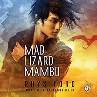 Mad Lizard Mambo audiobook cover art