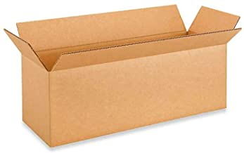 """IDL Packaging Long Corrugated Shipping Boxes 24""""L x 8""""W x 8""""H (Pack of 5) - Excellent Choice of Strong Packing Boxes for U..."""