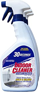 30 SECONDS Cleaners 1QINC 30 Seconds Indoor Cleaner, White