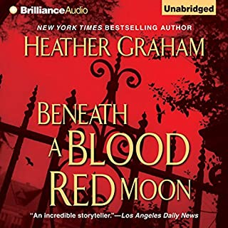 Beneath a Blood Red Moon audiobook cover art