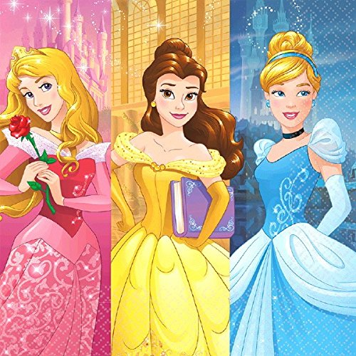 Luncheon Napkins | Disney Princess Dream Big Collection | Party Accessory