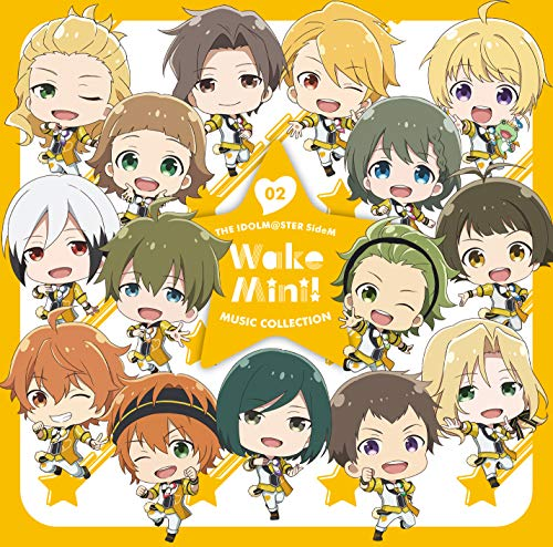 [Album]THE IDOLM@STER SideM WakeMini! MUSIC COLLECTION 02 – 315 STARS(メンタル Ver.)[FLAC + MP3]
