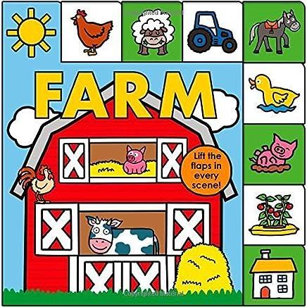 Lift-the-Flap Tab: Farm (Lift-the-Flap Tab Books) by Roger Priddy(2014-10-21)