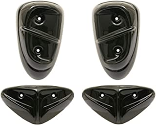Motodak Cache Turbine Scooter Top Perf Type Origine Compatible avec Booster//bws Noir