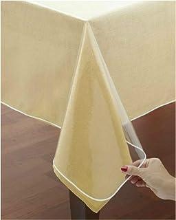 VITA PERFETTA Nappe Protection PVC Transparente (140 x 300 cm)