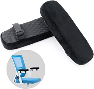 PoeHXtyy Protections daccoudoir de Chaise de Bureau de Mousse de m/émoire couvertures de Repos daccoudoir de Chaise Confortable pour des Coudes et des Avant-Bras