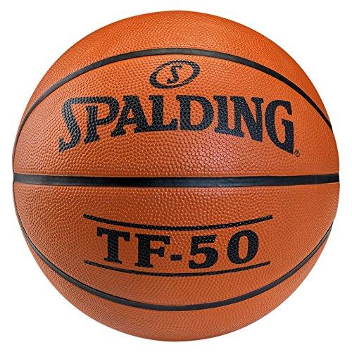 Spalding TF50 Outdoor SZ.7 (73-850Z) balón de Baloncesto, Unisex Adulto, Naranja, 7