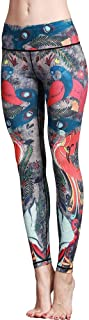 Women's Printed High Waist Yoga Pants Various Styles Patterned Workout Leggings