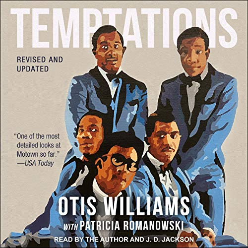 Temptations Audiobook By Otis Williams, Patricia Romanowski - with cover art
