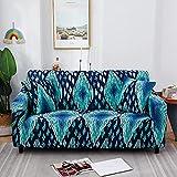 WXQY Funda de sofá con impresión para Sala de Estar, Funda de sofá elástica Antideslizante, Funda de sofá Bien Envuelta Funda de sofá A8 de 4 plazas