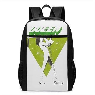 QUEEN クイーン (ボヘミアン・ラプソディ公開記念) カバン リュックサックバッグノートパソコン用のバッグ 大容量 バックパック キャンパス バックパック 大人のバックパック 旅行 ハイキングナップザック男女兼用