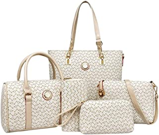 Bag For Women,Beige - Handbags Sets - 5 pieces