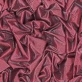 Muriva L14210 - Carta da parati satinata, effetto seta, moderna, realistica, con glitter, colore rosso