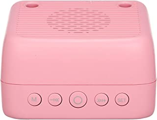 Meterk Mini Bluetooth 5.0 Speaker Alarm Clock Radio with FM Radio Supports LED Night Lamp TF Card Temperature Display Micr...