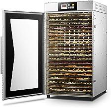 Déshydrateur de denrées alimentaires numérique réglable en acier inoxydable, collation de fruits, 16 couches, 35 35~90 ℃, ...