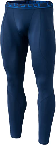 TSLA Men's (Pack of 1, 2) Thermal Compression Pants, Athletic Sports Leggings & Running Tights, Wintergear Base Layer...
