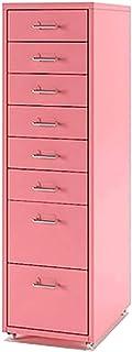 QSJY Meubles de rangements à tiroirs Staples Vertical juridique Classeur 3/5/6/8 tiroir, fichier tiroir à roulettes, Class...