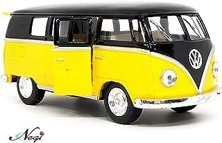 Negi Kinsmart Bus 1:32 1962 Volkswagen Classical Bus Open Door Bus Metal Bus Die-Cast Bus Pull Back Bus (Any One & Colour May Vary) (1962 Volkswagen Classical Bus)