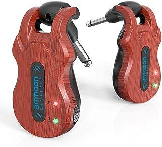 ammoon Receptor Transmisor de Guitarra Sistema de Guitarra Inalámbrico (5.8G)