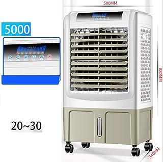 FFENGG Climatizador Frío Fresh Essence, Ventilador de Torre con Aromatización del Aire, 3 Velocidades, Función Frío, Oscilación 120º, Bajo Consumo. Climatizador Evaporativo sin Tubo