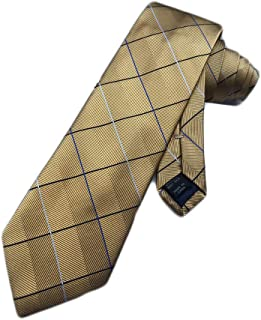 A Bank Heritage Collection Brown Fancy Medallion Tie Jos