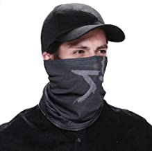 ZZoo WD Game Aiden Pearce Face Tube Mask Warmer Scarf Baseball Hat Cosplay Costume