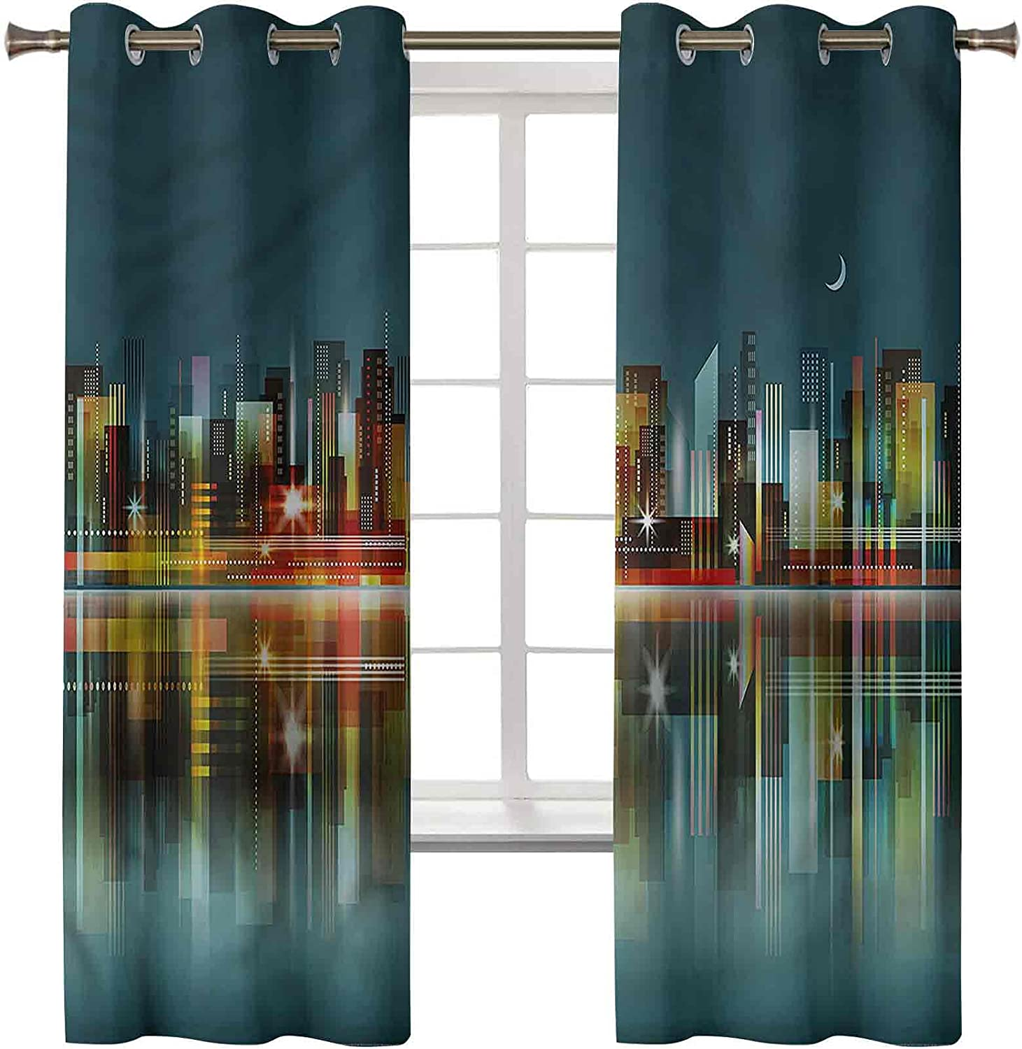 Modern Curtains Drapes Set of 2 Panels Inch 84 New Selling and selling sales 42 Cu Luxury x