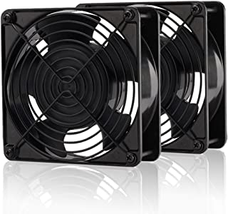 EZDIY-FAB 12cm 120mm 200CFM 4000RPM CPU Cooling Fan FFC1212DE 12V DC 4-Pin Molex PC Computer High CFM Cooling Case Fan wit...