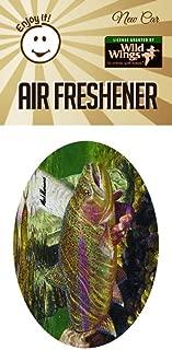 Enjoy It Wild Wings Rainbow Trout Scene Air Freshener, New Car Scent