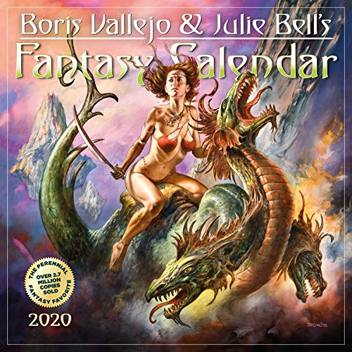 Workman Calendars: 2020 Boris Vallejo & Julie Bells Fantasy