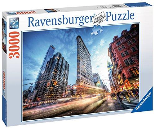 Ravensburger Erwachsenenpuzzle- Flat Iron Building, New York, 3000 Pezzi Jigsaw Puzzle, 17075