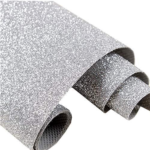 DHHOUSE Glitter Wallpaper Sample, Sparkly Glitter Paper