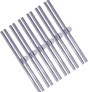BUTUZE Practical 6 Pieces Clasp Lock Packs ,7.48Inch Metal Purse Frame Kiss Clasp Lock with Comfortable Grip,Bag Supplies for Purse Making,Bag Making,Leather Craft DIY