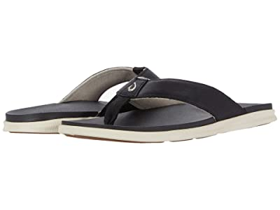 OluKai Alania (Black/Black) Men